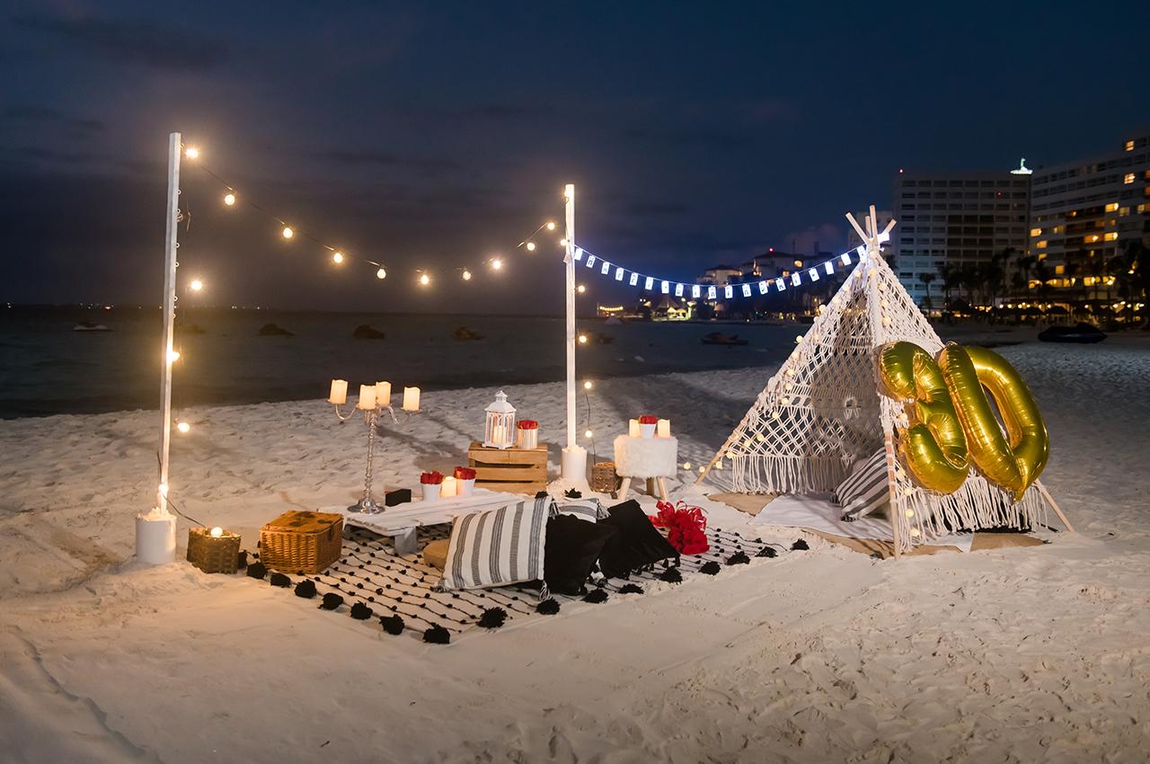 Cancun Birthday Picnic