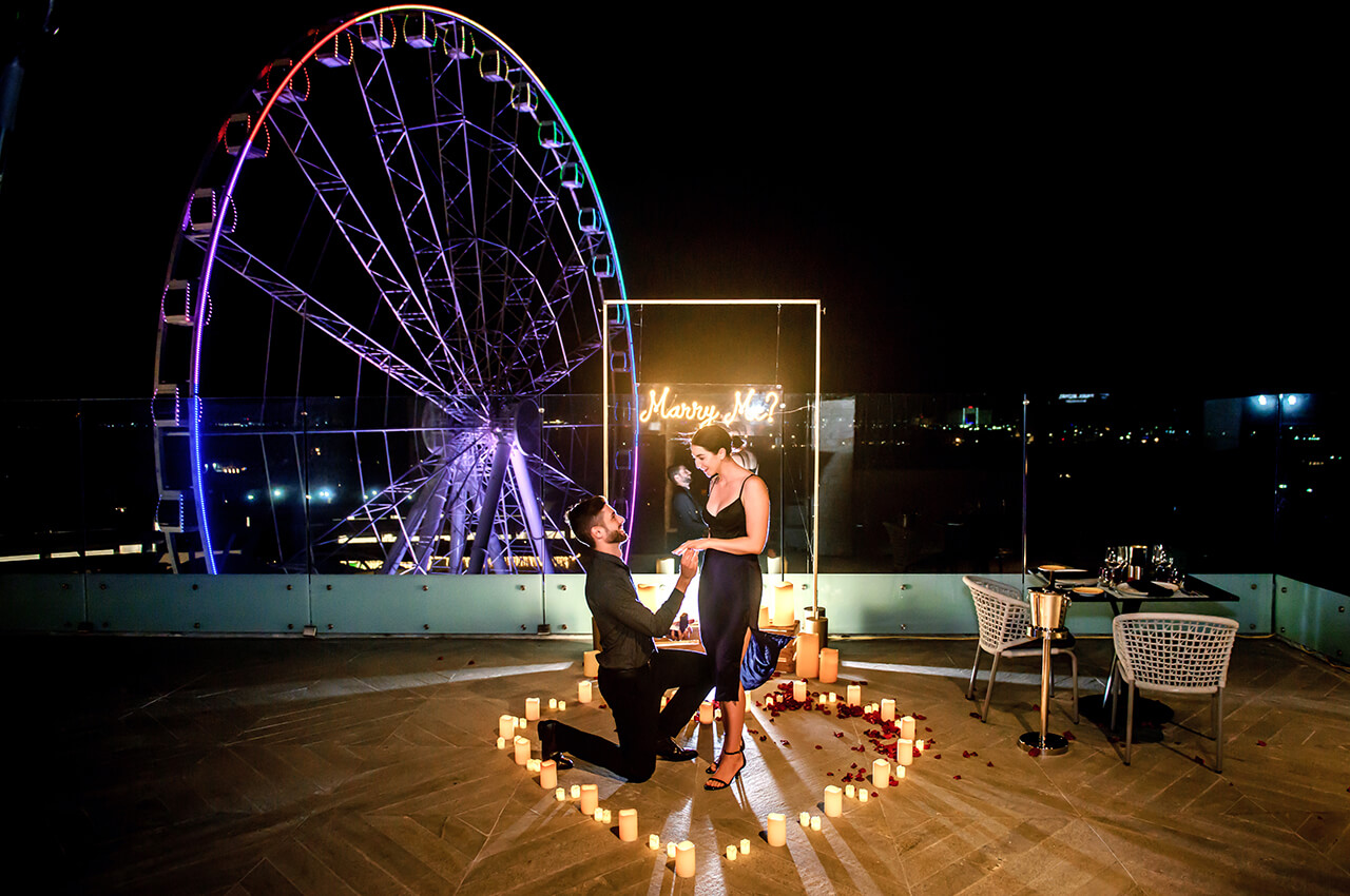 Cancun Rooftop Proposal