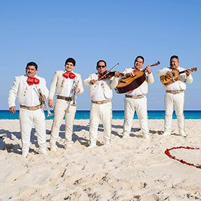 Mariachi provided by Cancun Picnic